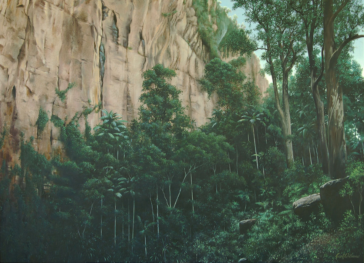 Minyon Canyon - 2008 Oils on Linen