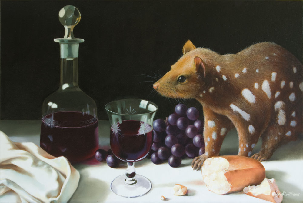 Quality Shiraz - 2013 Oils on Linen