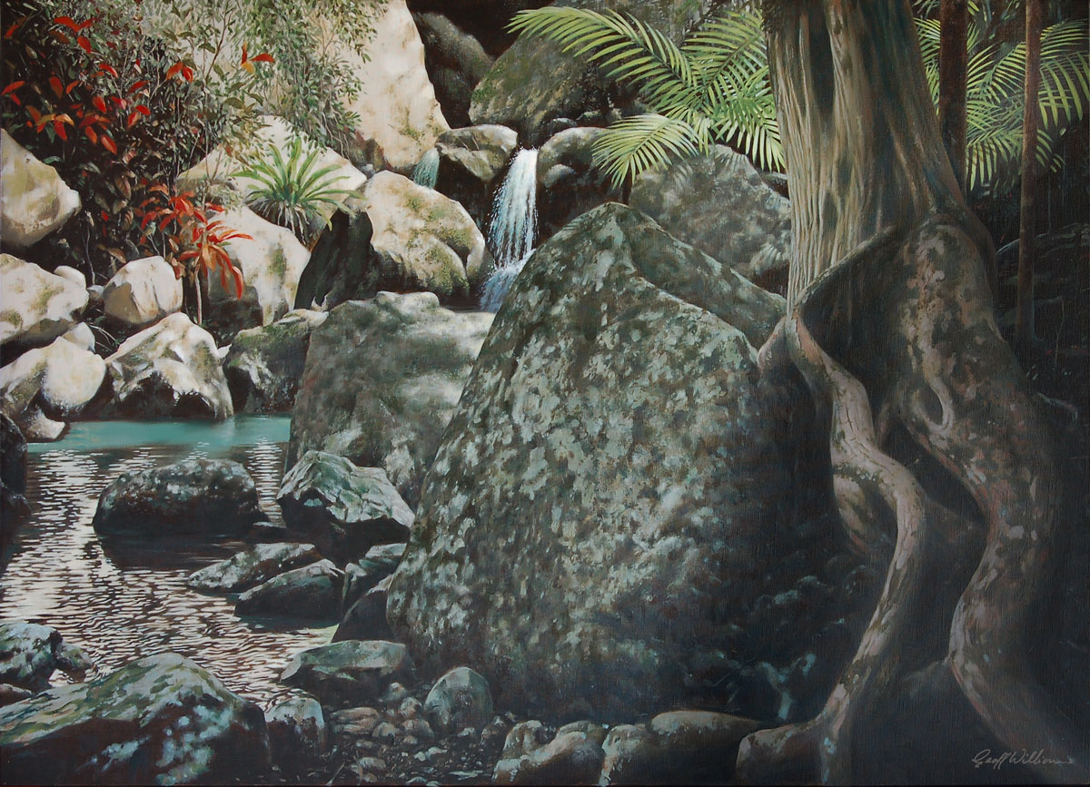 Repentance Creek 2 - 2008 Oils on Linen