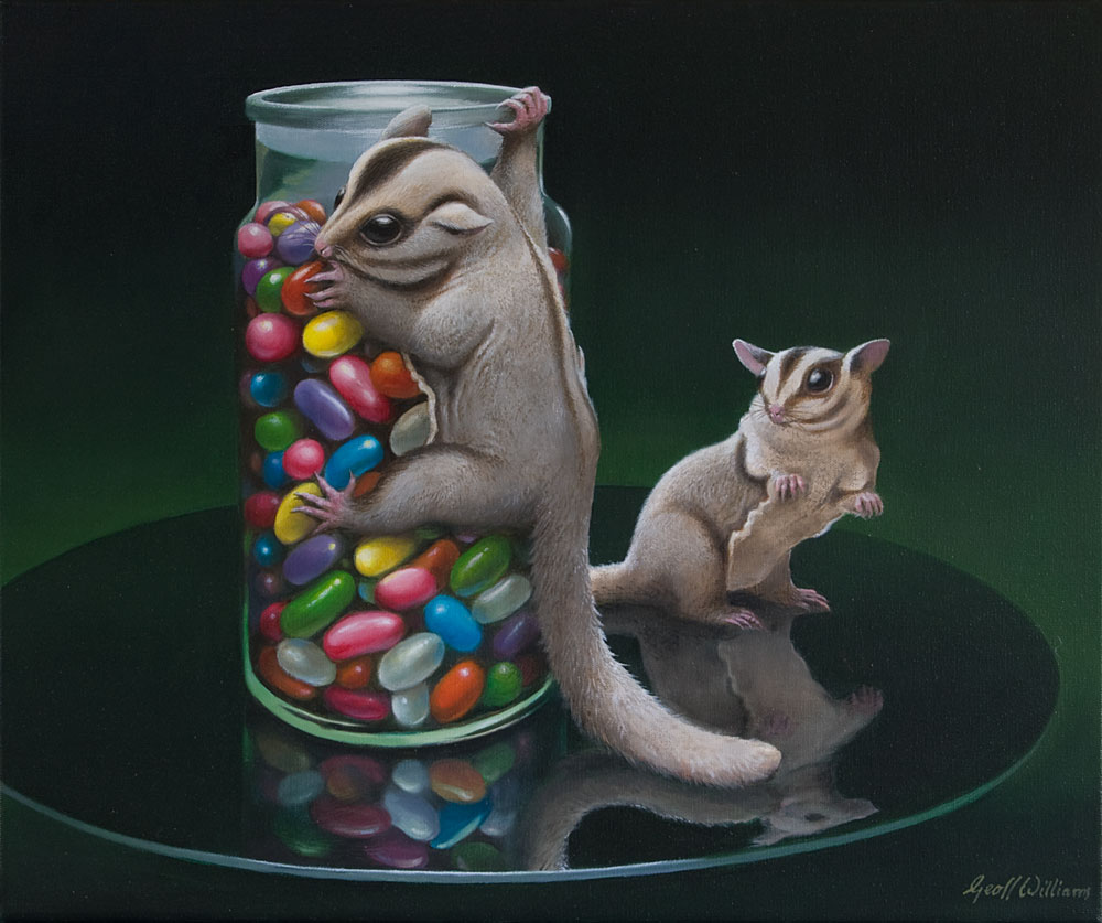 Sweet Sugar - 2013 Oils on Linen