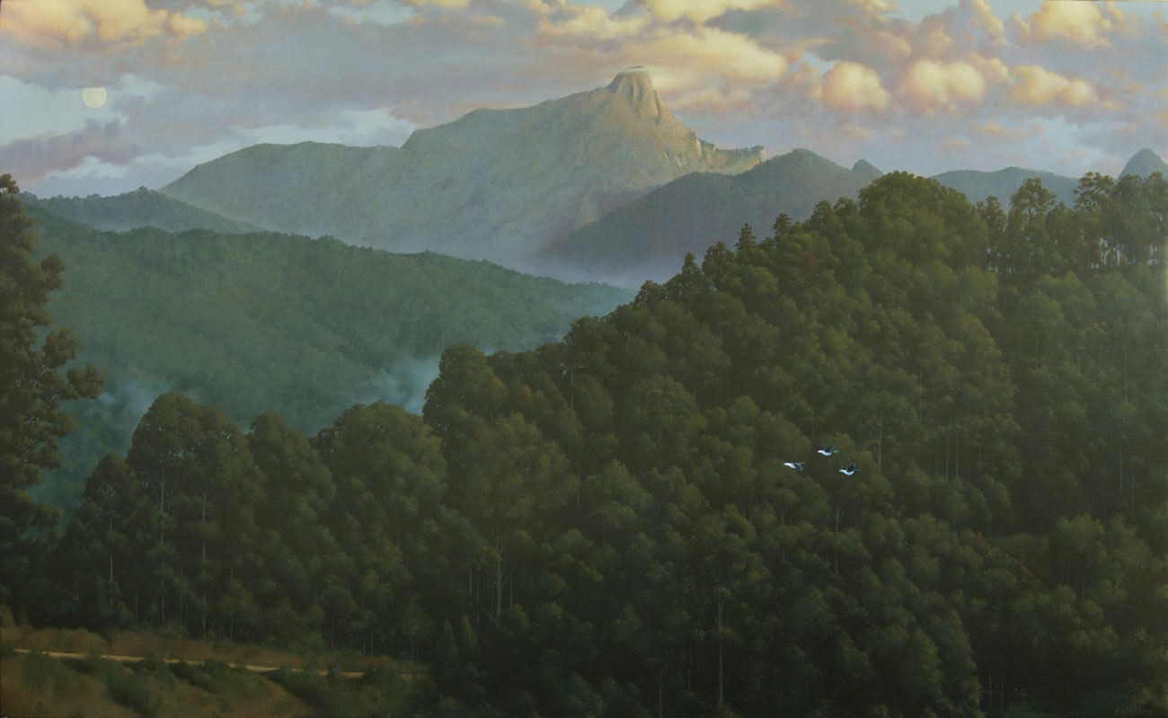 Wollumbin - 2010 Oils on Linen